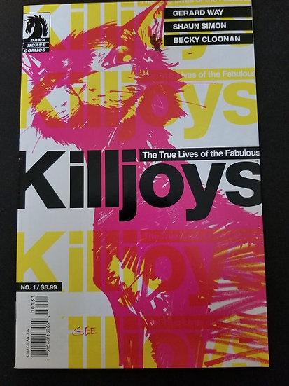 True Lives of the Fabulous Killjoys 1 Variant VF