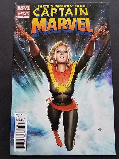 Captain Marvel (2012 7th Series) #1B VF/NM [1:25 Granov Variant]