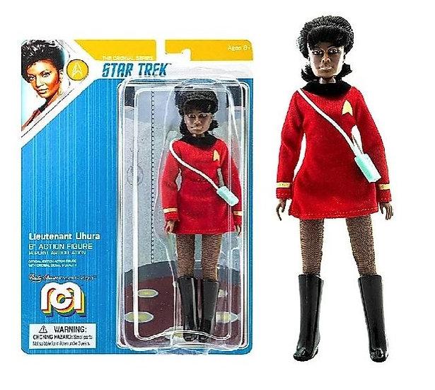 "Star Trek Lieutenant Uhura 8"" MEGO Action Figure"
