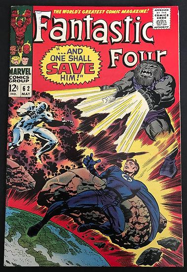 Fantastic Four 62 VF+ 1st Appearance of Blastarr