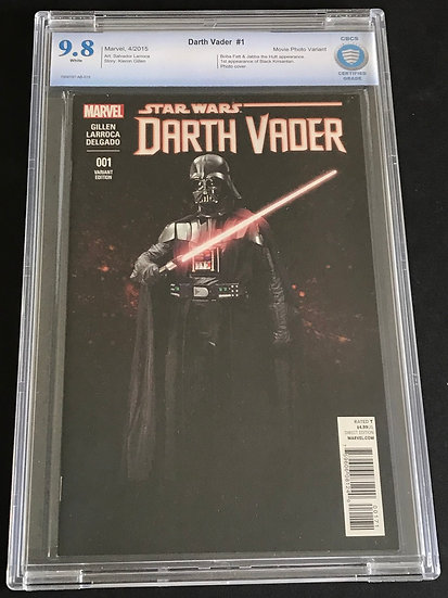 Star Wars Darth Vader #1 CBCS 9.8 White Pages