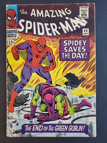 Amazing Spider-Man (Marvel) #40 VG-