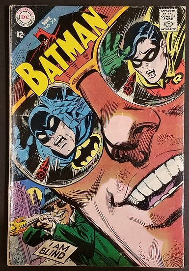 Batman (1940) #205 VG