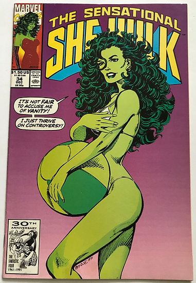 Sensational She-Hulk (Marvel) #34 VF+