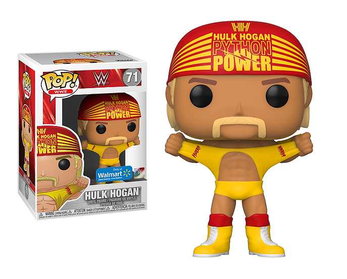 Funko Pop WWE Hulk Hogan 71 Walmart Exclusive