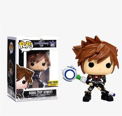 Funko Pop Kingdom Hearts Sora (Toy Story) 493 Hot Topic Exclusive