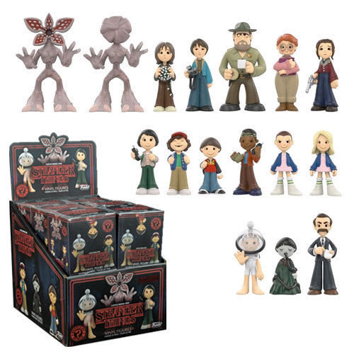 Funko Strange Things Mystery Minis With Game Stop