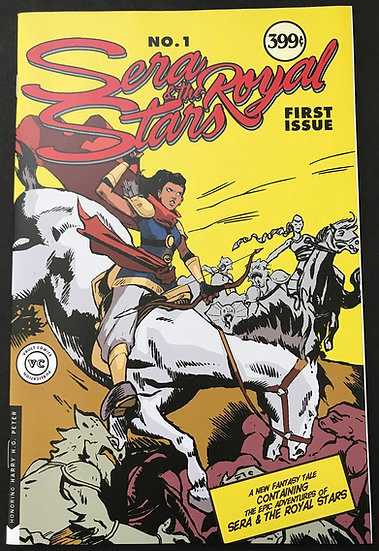 Sera Royal & The Stars #1 [First Issue, CBSI Exclusive 67/250]