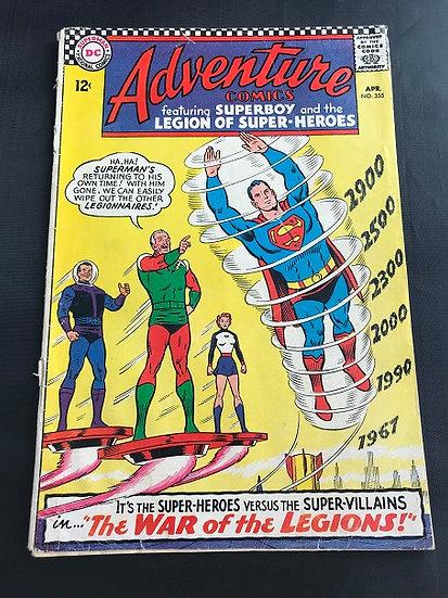 Adventure Comics (1938 1st Series) #355 VG