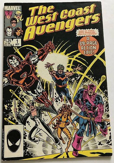 Avengers West Coast (Marvel) #1 FN+