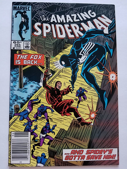 Amazing Spider-Man 265 VF+ 1st Appearance of Silver Sable