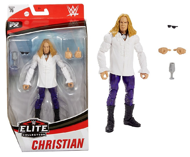 WWE Elite Collection Series 76 Christian Wrestling Figure