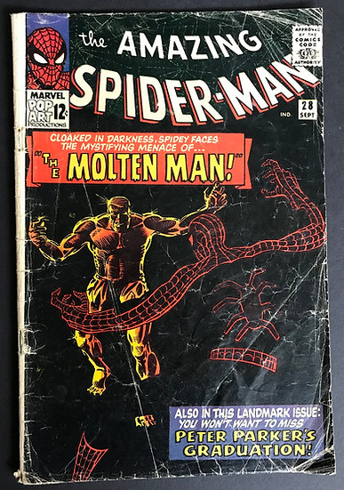 Amazing Spider-Man (Marvel) #28 GD-