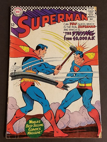 Superman (1939 1st Series) #196 VG
