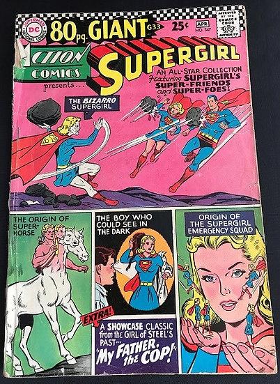 Action Comics #347 GD+