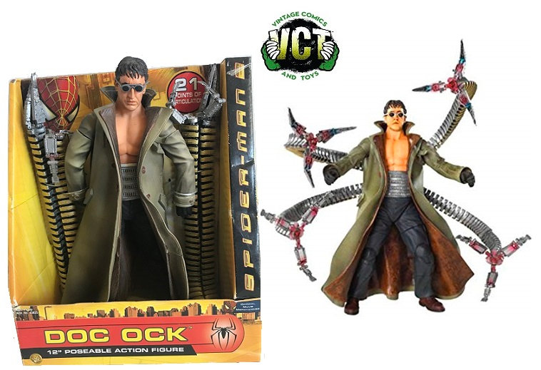 """Spider-Man 12"""" Doc Ock Poseable Action FIgure"""