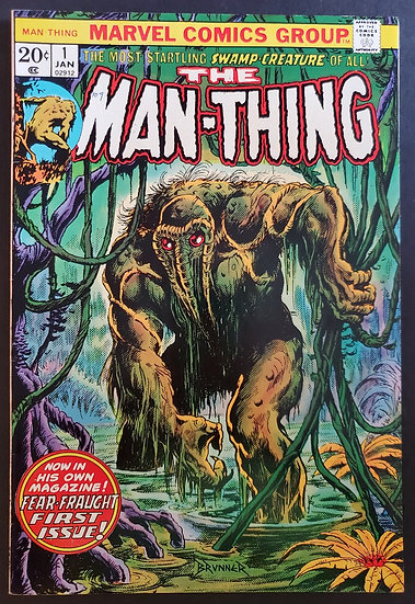 Man-Thing (1974 1st Series) #1  VF [1st Man-Thing titled series]