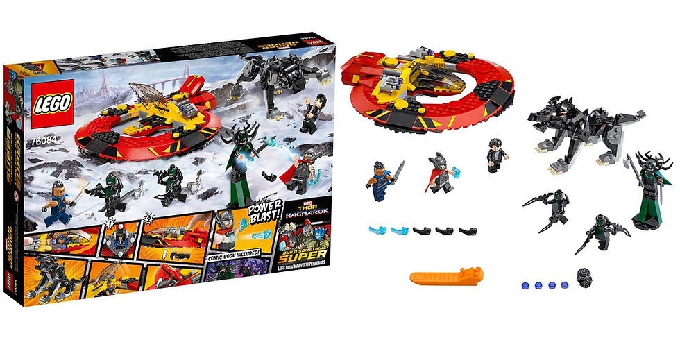 Lego Marvel Super Heroes Thos Ragnarok The Ultimate Battle For Asgard 76084