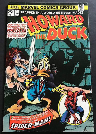 Howard the Duck (1976 1st Series) #1 VF 1st Issue