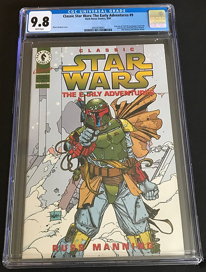 Classic Star Wars: The Early Adventures #9 CGC White Pages