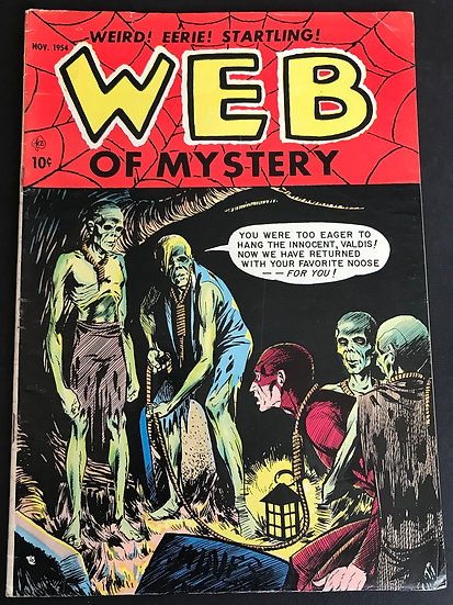 Web of Mystery (1951) #27 VG/FN