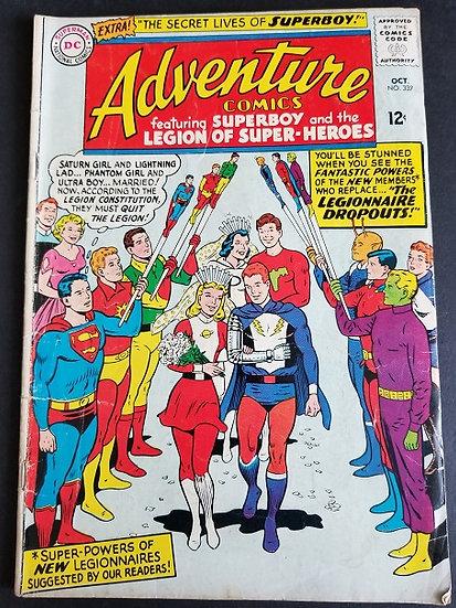 Adventure Comics (1938 1st Series) #337 VG