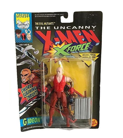 1992 The Uncanny X-Men X-Force The Evil Mutants Gideon Action Figure - Toy Biz