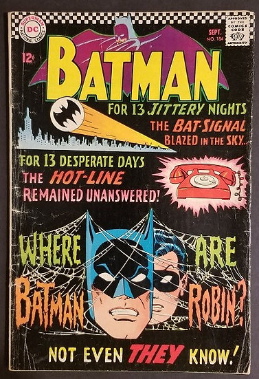Batman 184 VG