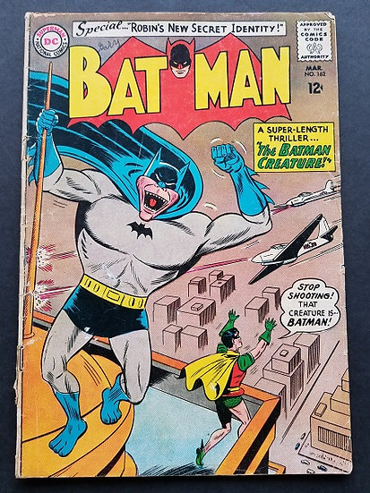 Batman (1940) #162 GD+  [Sheldon Moldoff Cover]
