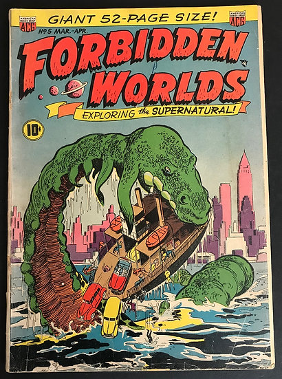 Forbidden Worlds (1952) #5 VG-