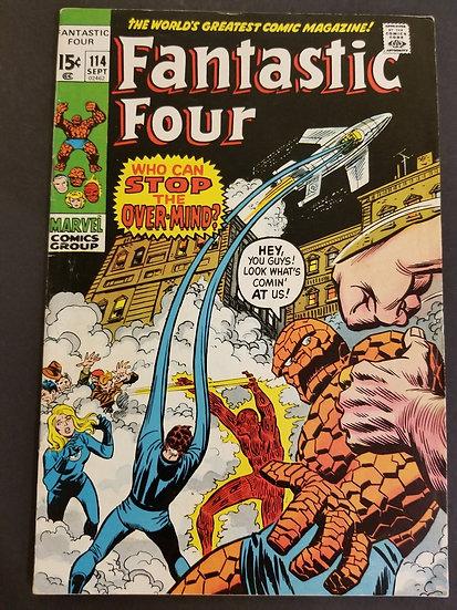 Fantastic Four (1961 1st Series) #114