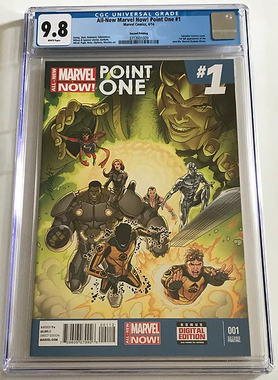 All-New Marvel! Now! Point One (Marvel) #1 CGC 9.8 White Pages [2nd Printing]