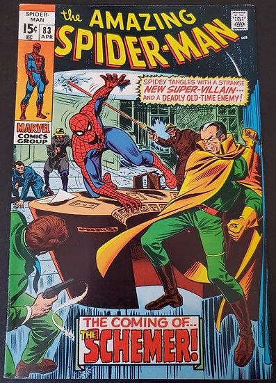 Amazing Spider-Man 83 VF 1st Schemer