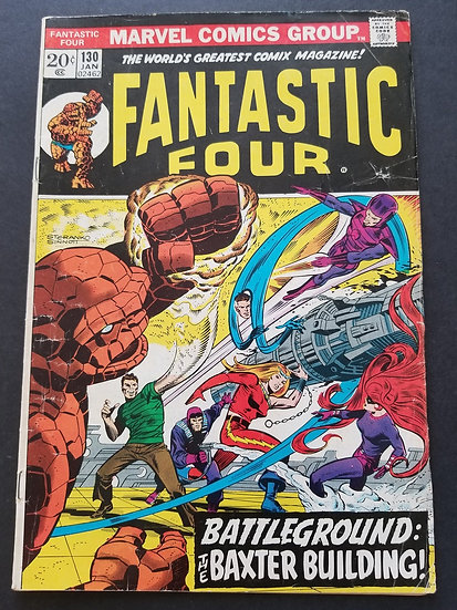 Fantastic Four (1961 1st Series) #130 VG