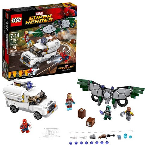Lego Marvel Super Heroes Spider-Man Homecoming Beware The Vulture 76083