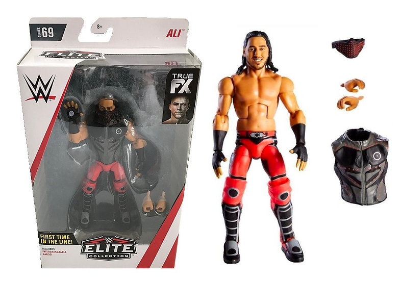 WWE Elite Collection Series 69 Ali [Chase Variant - Red Gear]