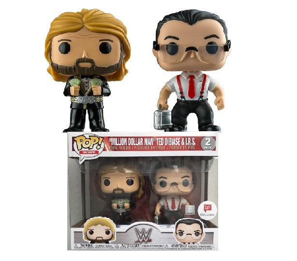 Funko Pop WWE Million Dollar Man Ted Dibiase I.R.S (2Pack) Walgreens Exclusive
