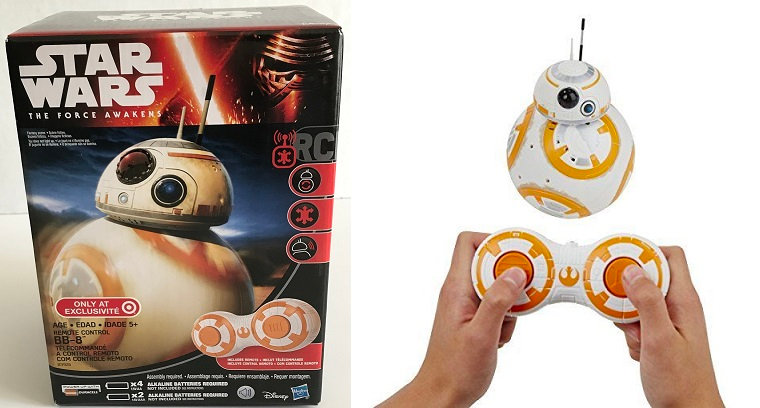 Star Wars The Force Awakens BB-8 DROID Remote Control Target Exclusive