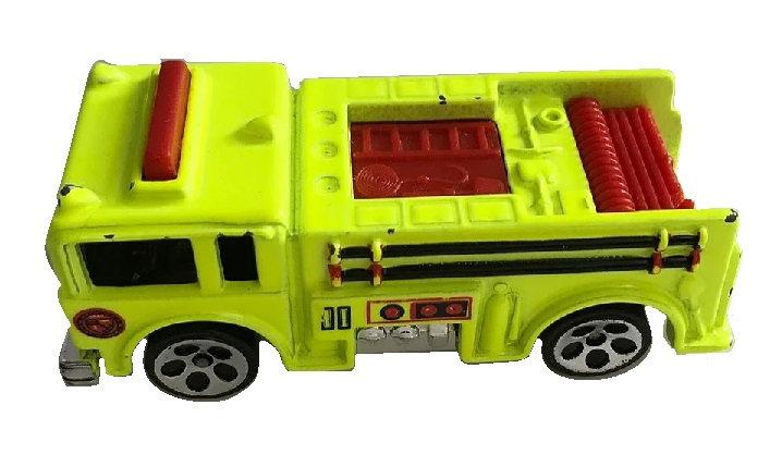 1976 Hot Wheels Yellow Fire Truck