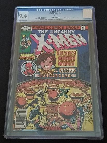 X-Men (1963 1st Series) #123 CGC 9.4