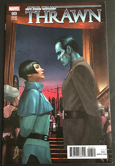 Star Wars Thrawn (2018 Marvel) #3 NM- [Retailer Incentive Variant Cover]