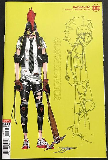 Batman (DC) #96 NM [Retailer Incentive Variant Cover]