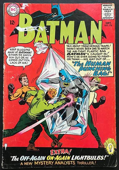 Batman #174 GD+ [Paint Stains]