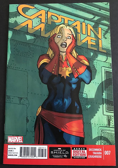 Captain Marvel 7 VF- [Flerken Cameo]