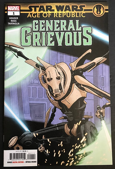 Star Wars Age of Republic General Grievous (2019 Marvel) #1A