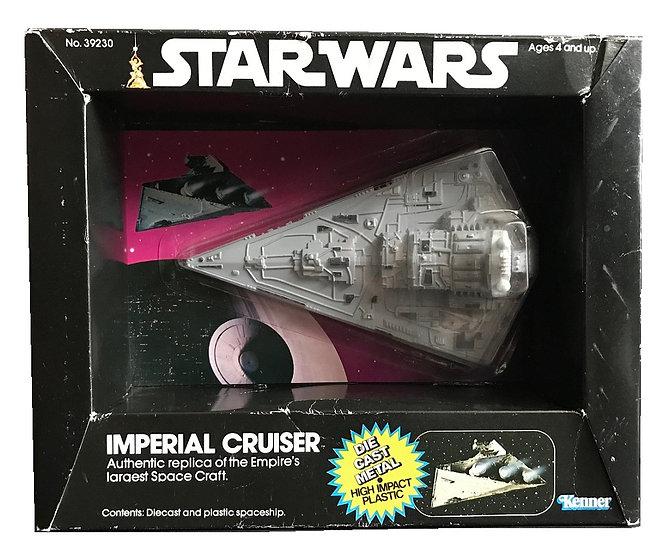 1979 Kenner Star Wars Diecast Imperial Cruiser MISB