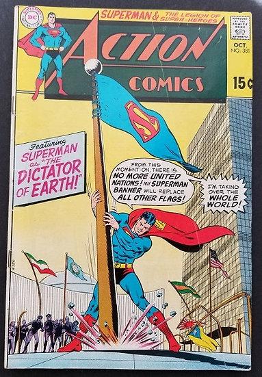 Action Comics #381 GD