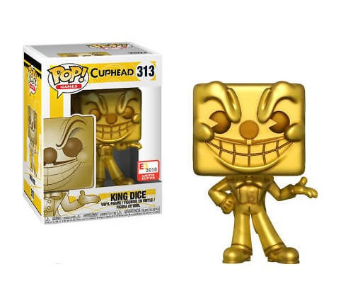 Cup Head King Dice 313 E3 2018 Limited Edition