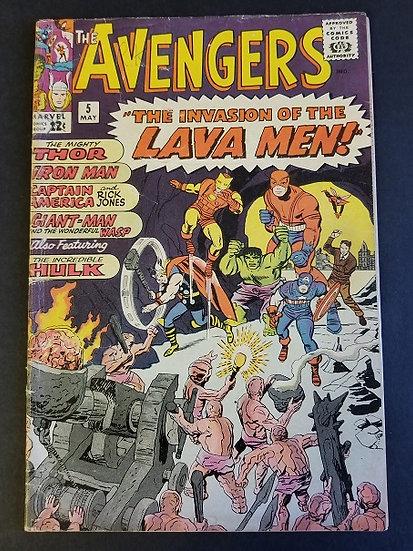Avengers (1963 1st Series) #5