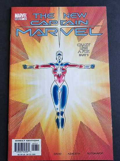 Captain Marvel (2002 5th Series Marvel) #17 VF/NM